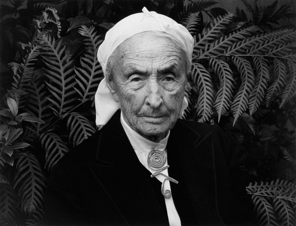 انسل آدامز. پرتره جرجیا اوکیف، کارمل، کالیفرنیا، 1981