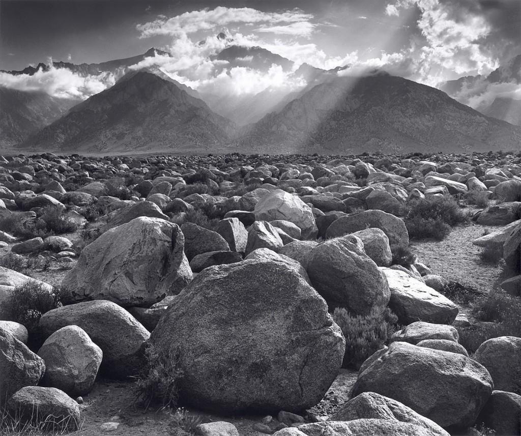 انسل آدامز. کوه ویلیامسن، سیرا نوادا، کلیفرنیا، 1944