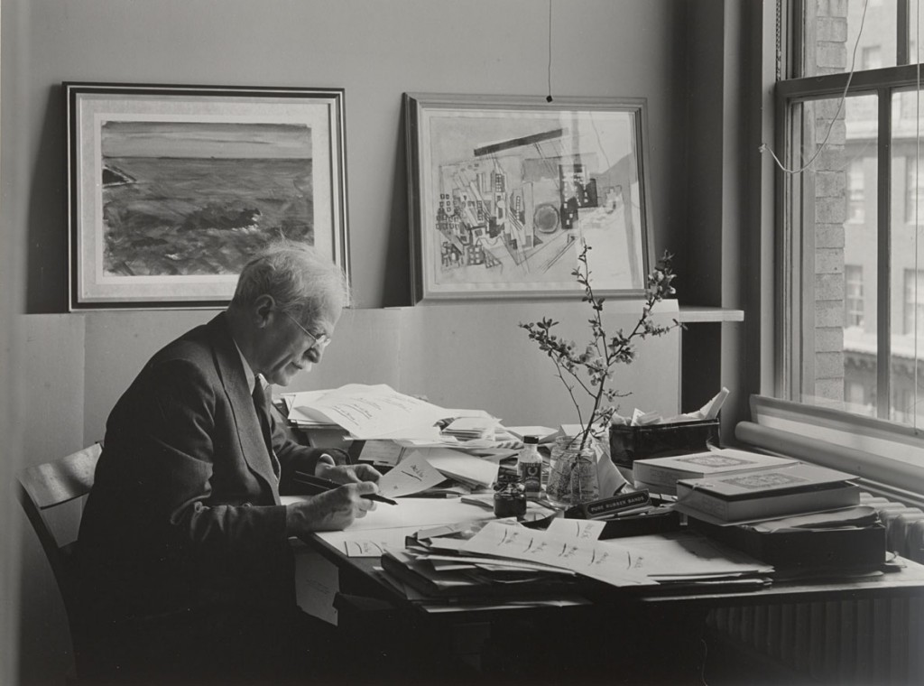 انسل آدامز. پرتره آلفرد استیگلیتس، نیویورک، 1939