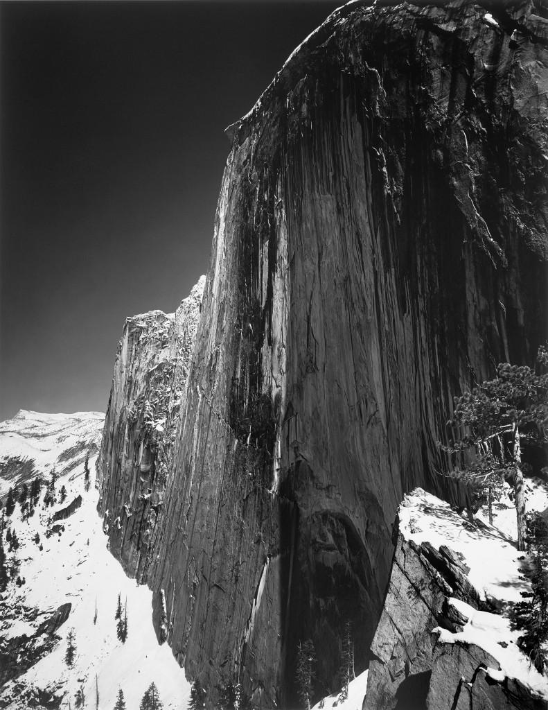 انسل آدامز. مونولیت: رخِ نیمگنبد، 1927