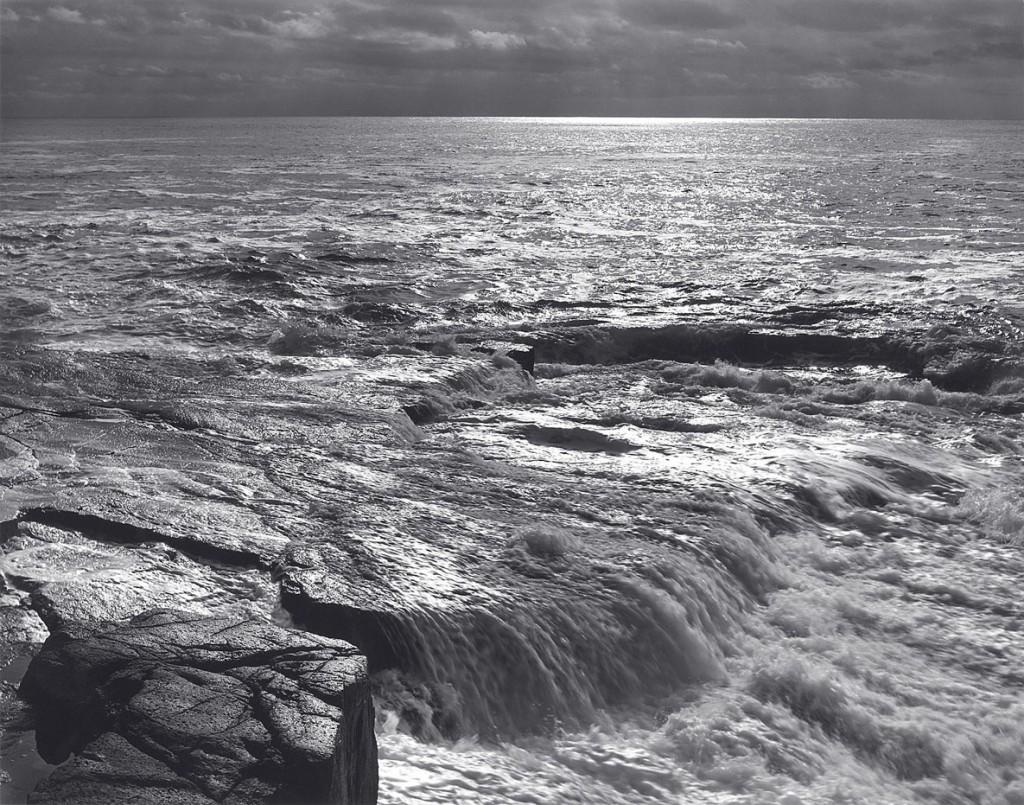 انسل آدامز. اقیانوس اطلس، شودیک پُینت، ایالت مِین، 1949