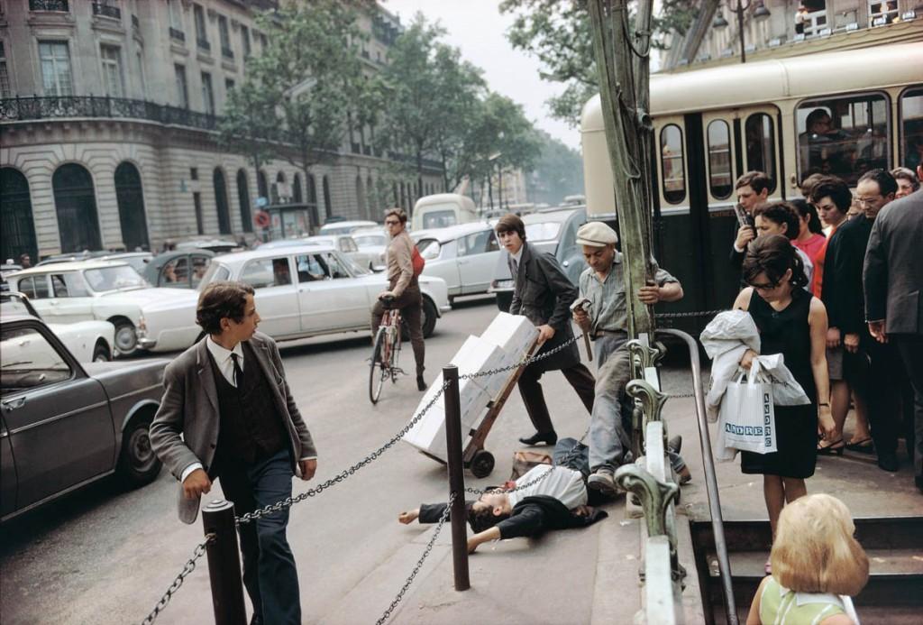جوئل مایرویتس. پاریس، 1967