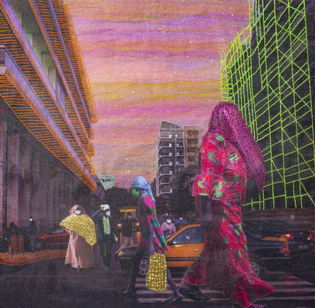 Joana Choumali. «نرمالِ جدید»، 2020، از مجموعهی Albahian (2018 – در حال توسعه)