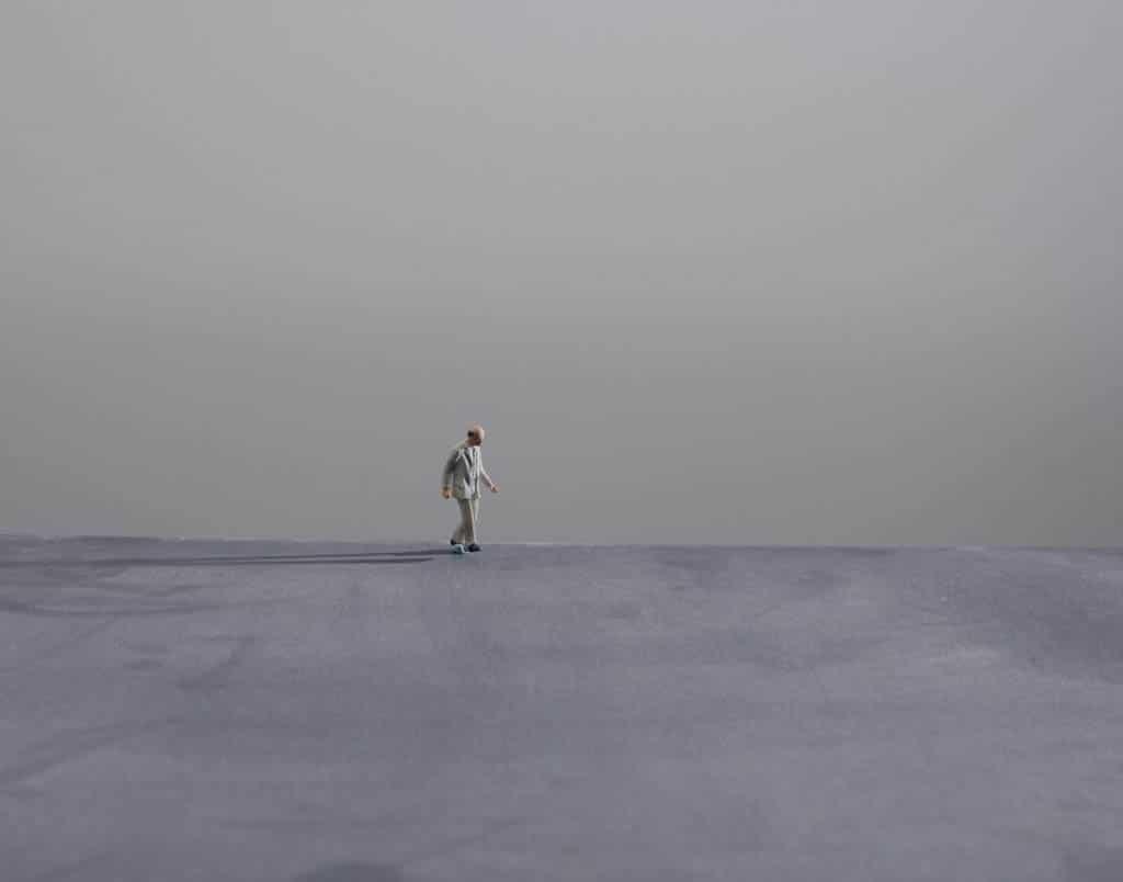 Nadav Kander. «تعمق تنهایی و سکوت»، 2020
