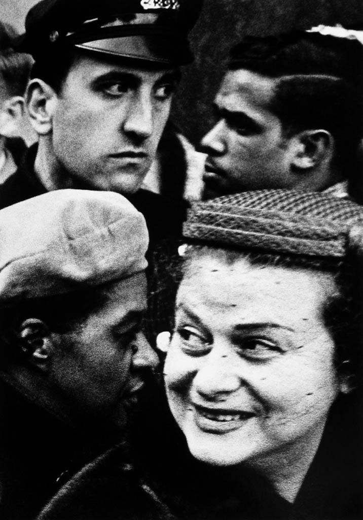 ویلیام کلاین. «چهار سر، نیویورک»، 1954