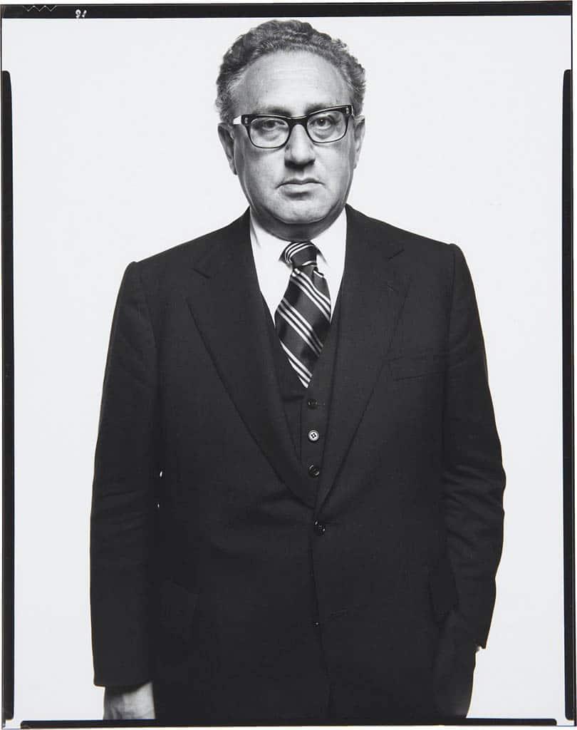 ریچارد اودان. «هنری کسینجر، وزیر امور خارجه، واشینگتن، دیسی»، 2 ژوئن 1976