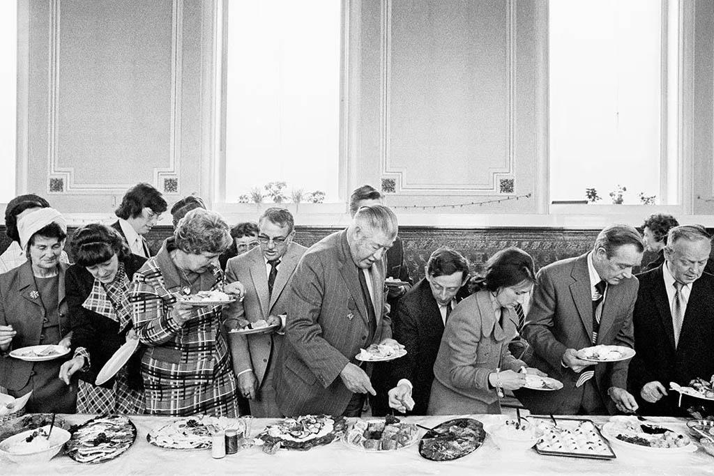 مارتین پار. مراسم ضیافت آغازبهکار شهردار تادْمرْدن، یورکشایر غربی، انگلستان، 1977