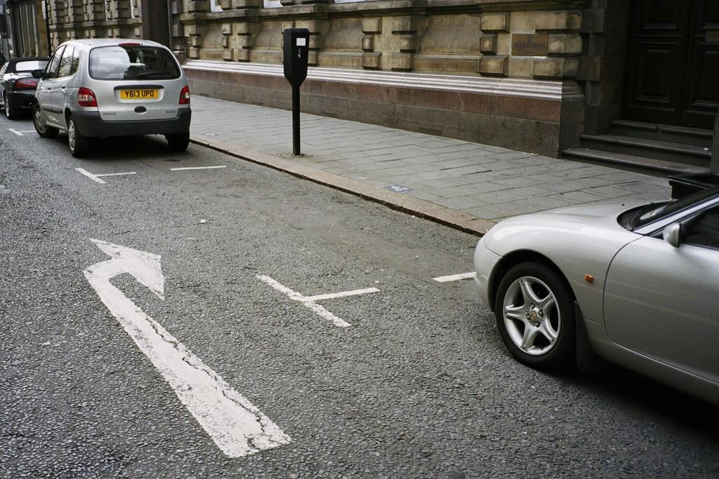 مارتین پار. نیوکسل، انگلستان، از مجموعه Parking Spaces، 2002