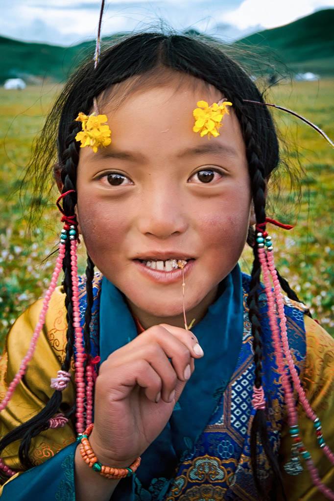 Zijie Gong. دختر تبتی، مقام اول دستهی اول (14 تا 17 سال) مسابقه عکاسی جاده ابریشم از دیدگاه جوانان 2018