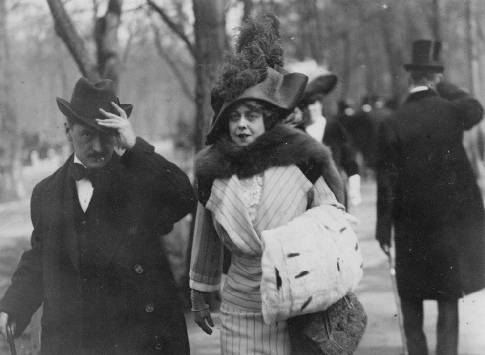 ژاک آنری لارتیگ. «بوئا دو بولُنیه، پاریس»، 1911