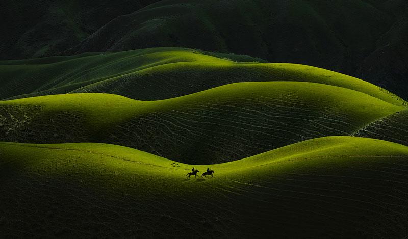Sheng Liu از چین. مقام اول دسته «عکاسی منظره» مسابقه عکاسی اکسپوژر 21/20