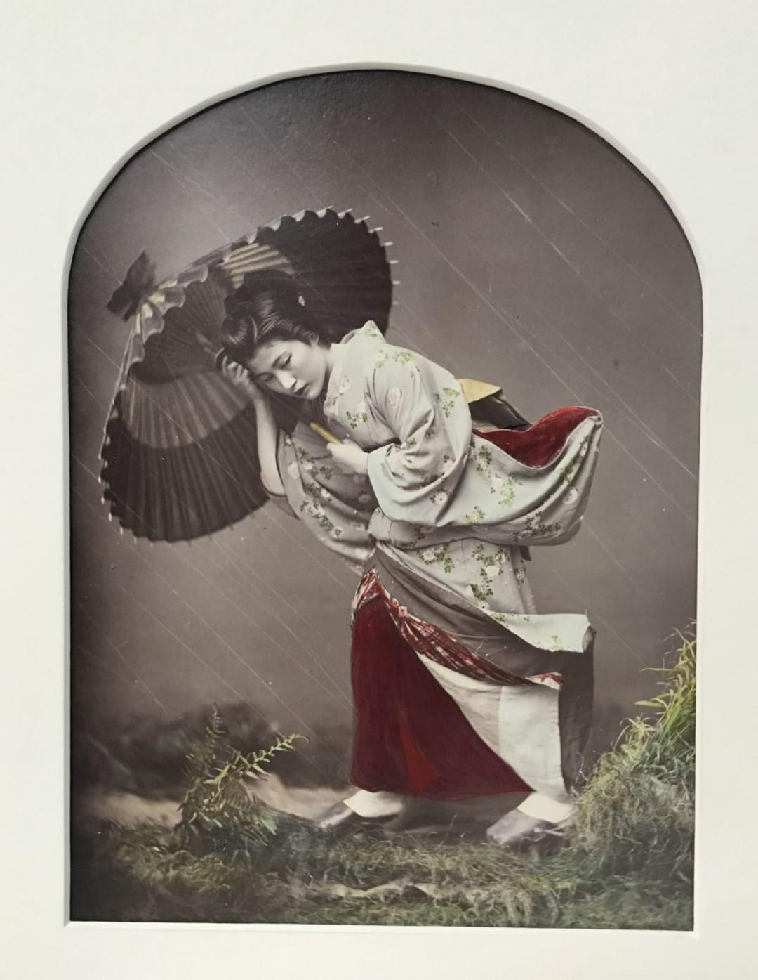 قدرت عکاسی: بارون وون اشتیلفرید، دختری زیر باران