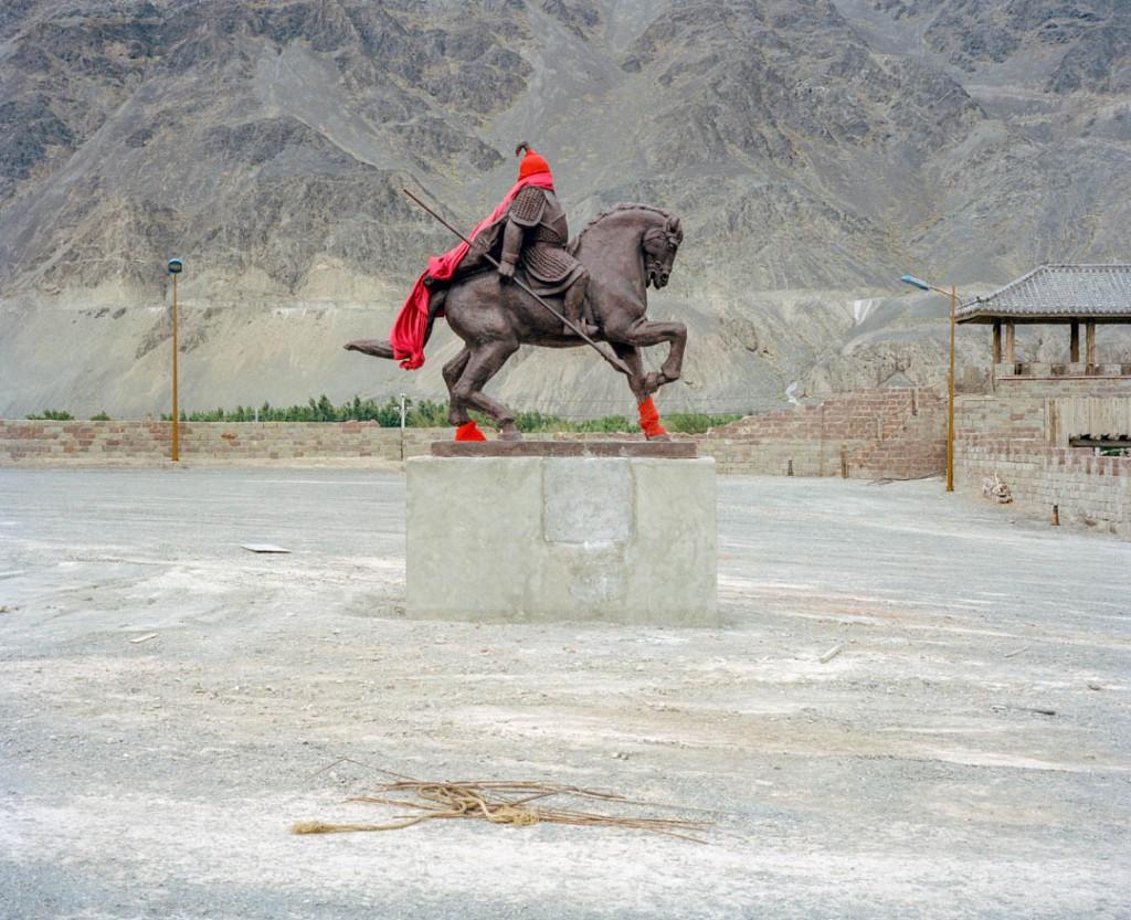 پاتریک وک. استان سینکیانگ، چین