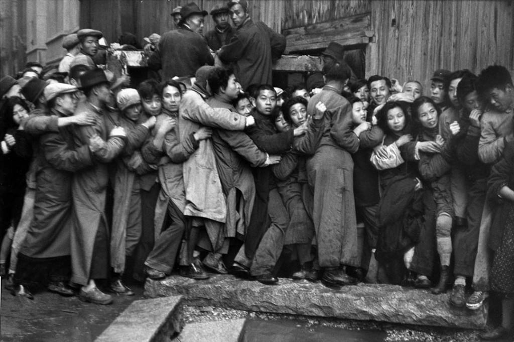آنری کارتیه برسون. «شانگهای»، دسامبر 1948