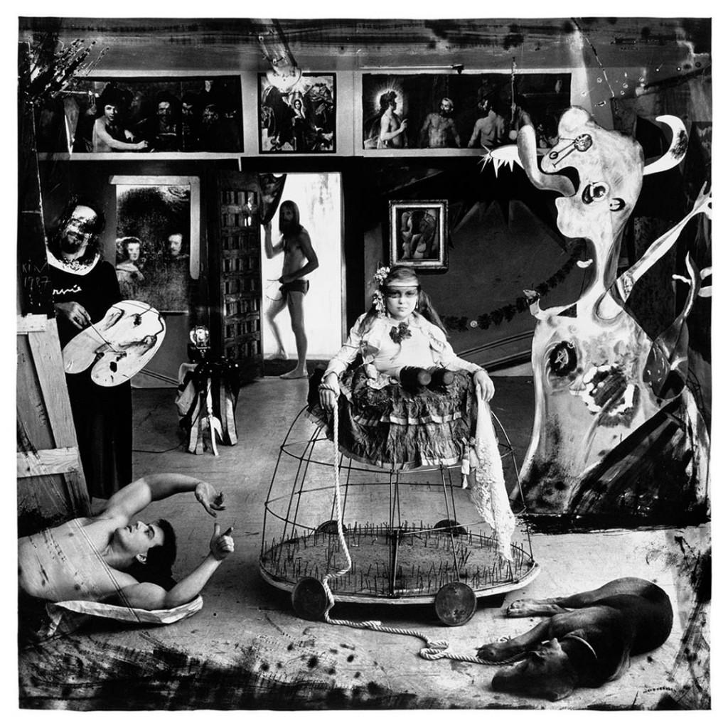 جوئل پیتر ویتیکن. «دختران»، 1987 (ارجاعی به نقاشی مشهور دیگو بلاسکس)