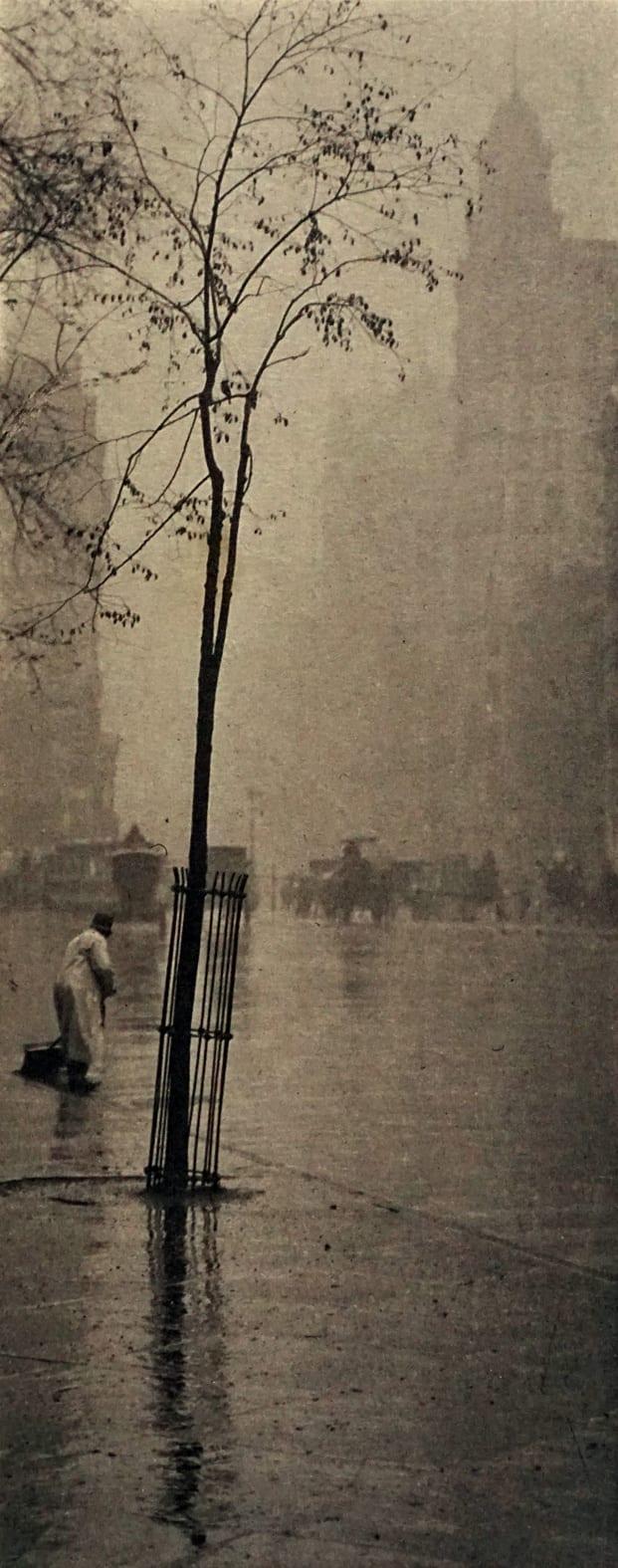 قدرت عکاسی: آلفرد استیگلیتس، باران بهاری