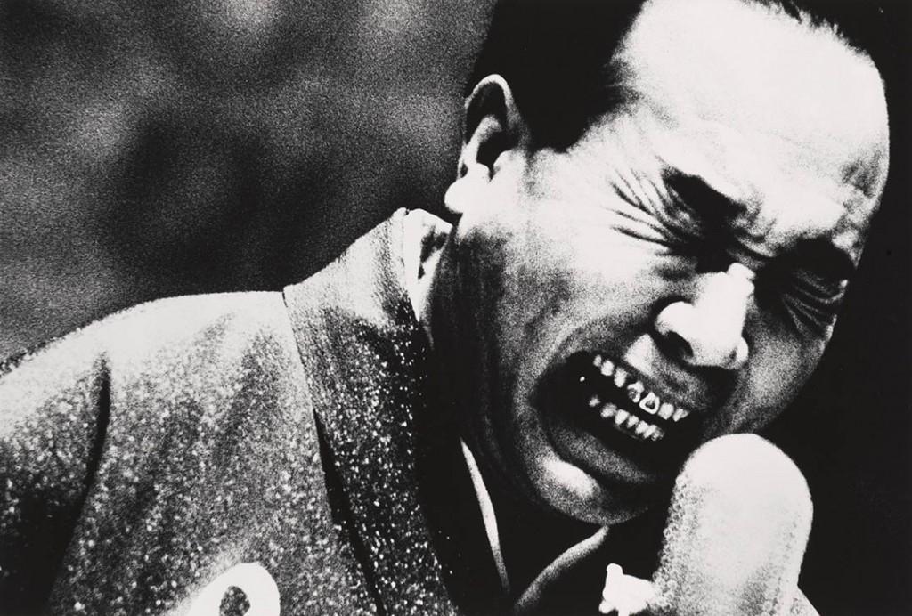 دایدو موریاما. «خوانندهی روی استیج، شیمیزو»، 1967
